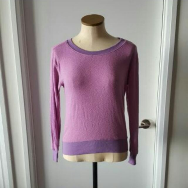 Purple Urban Outfitters Sweater