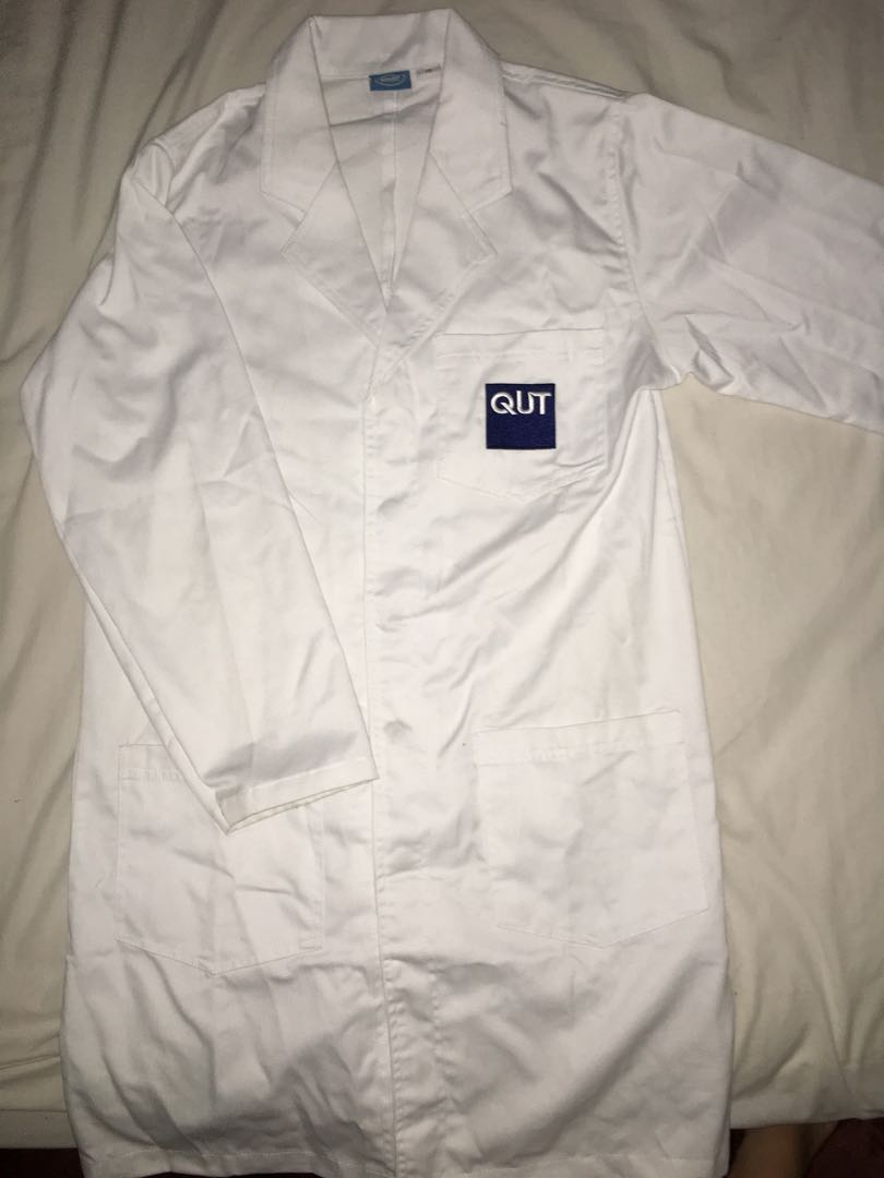 QUT Lab Coat XS ALMOST PERFECT CONDITION