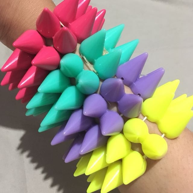 Rainbow Studd Bracelet
