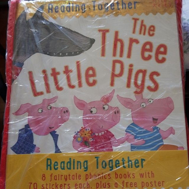 Reading Together (8 in 1 Children's Books)
