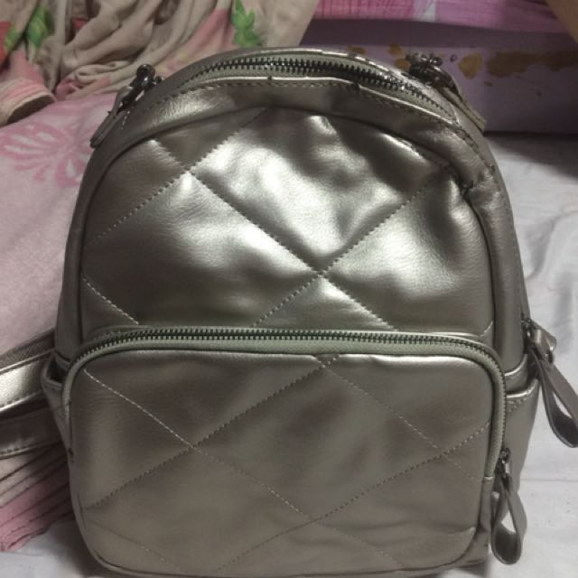 Repriced LP Silver Backpack