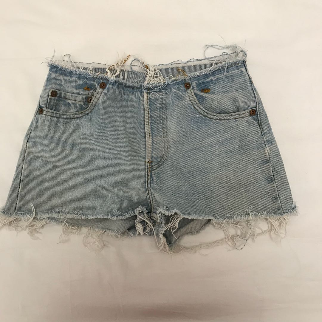 Reworked Levi Shorts