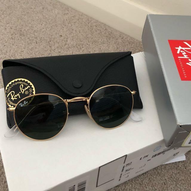 Round rayban sunglasses