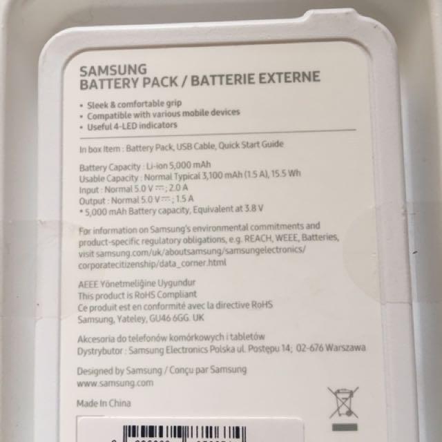 全新Samsung Battery Pack