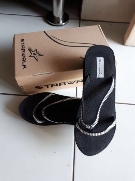 Sandal wedges starwalk free ongkir