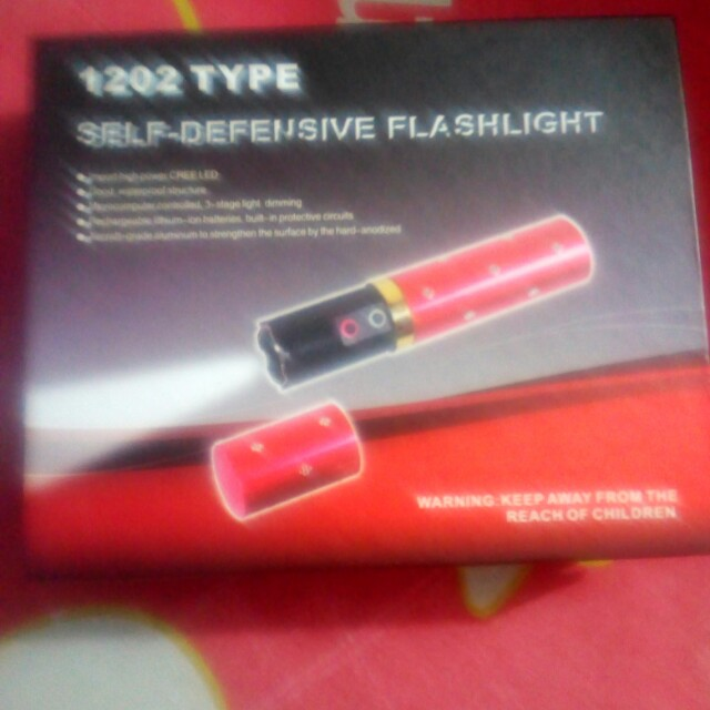 self defensive flashlight