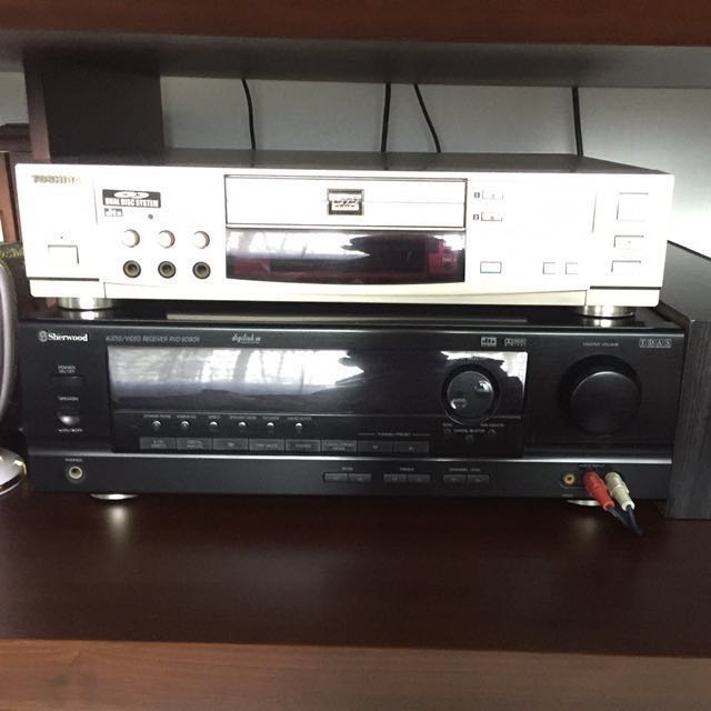 Sherwood AudioVideo Toshiba Karaoke System With Speakersbought - Abt speakers