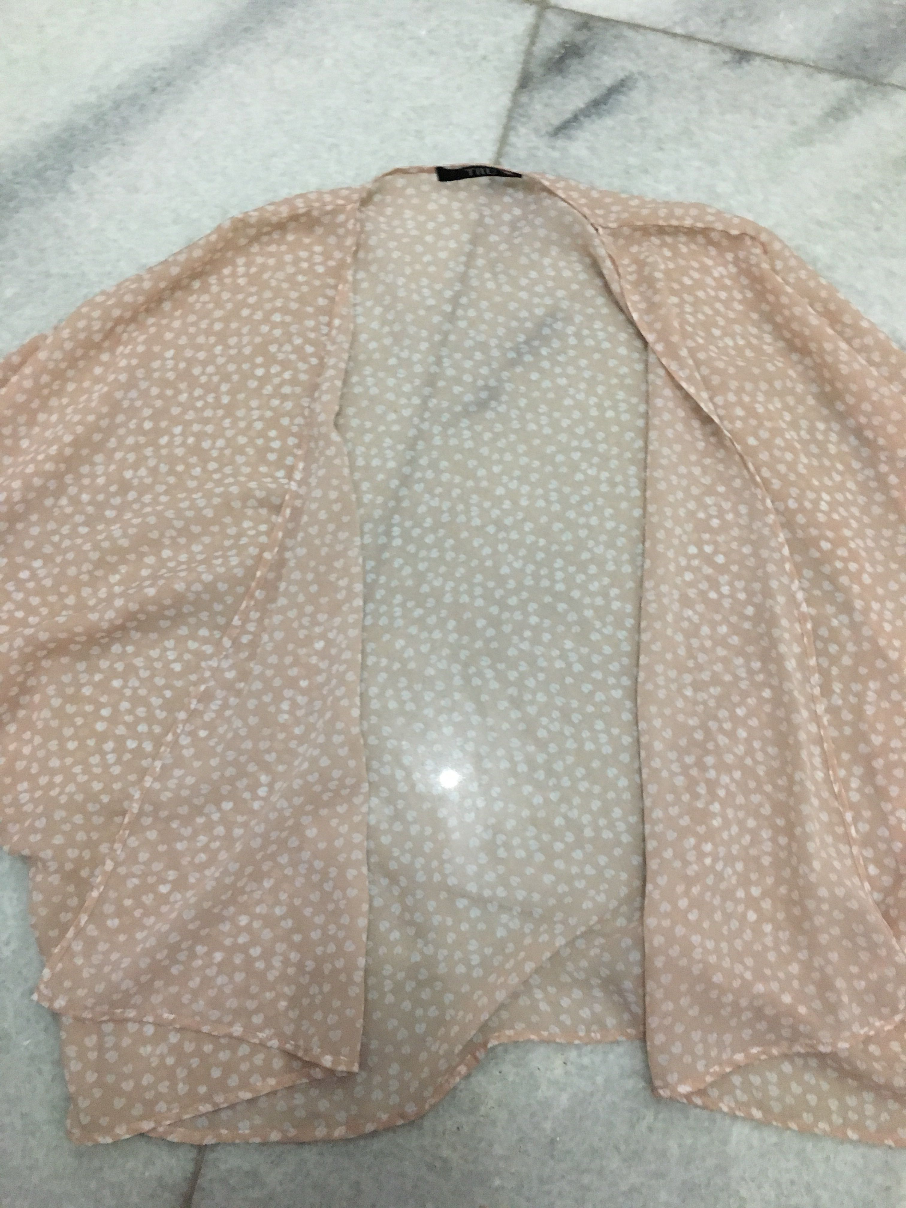Soft Pink Heart Outer