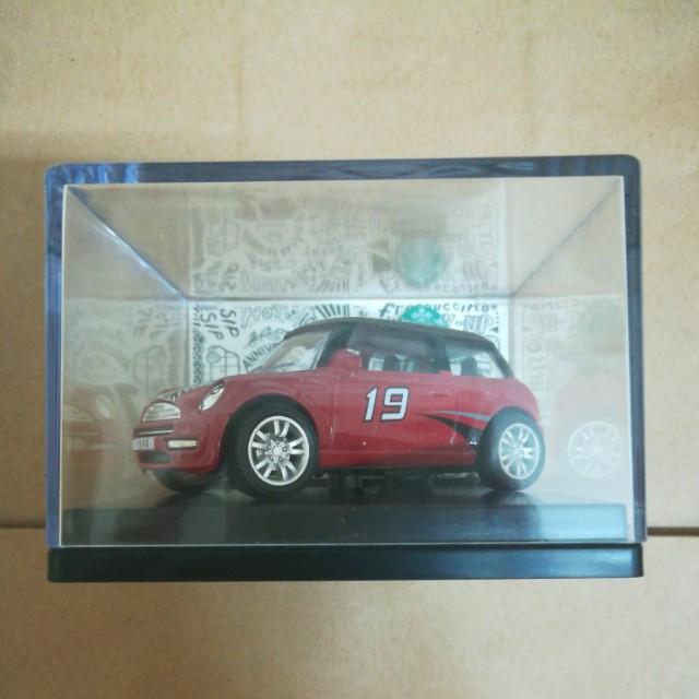 ⭐️🆕Starbucks® 🇲🇾 19th Anniversary Mini Cooper - Red
