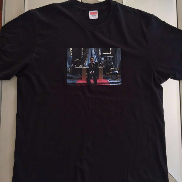 473d3d622e67 Supreme Scarface tee, Men's Fashion, Clothes on Carousell