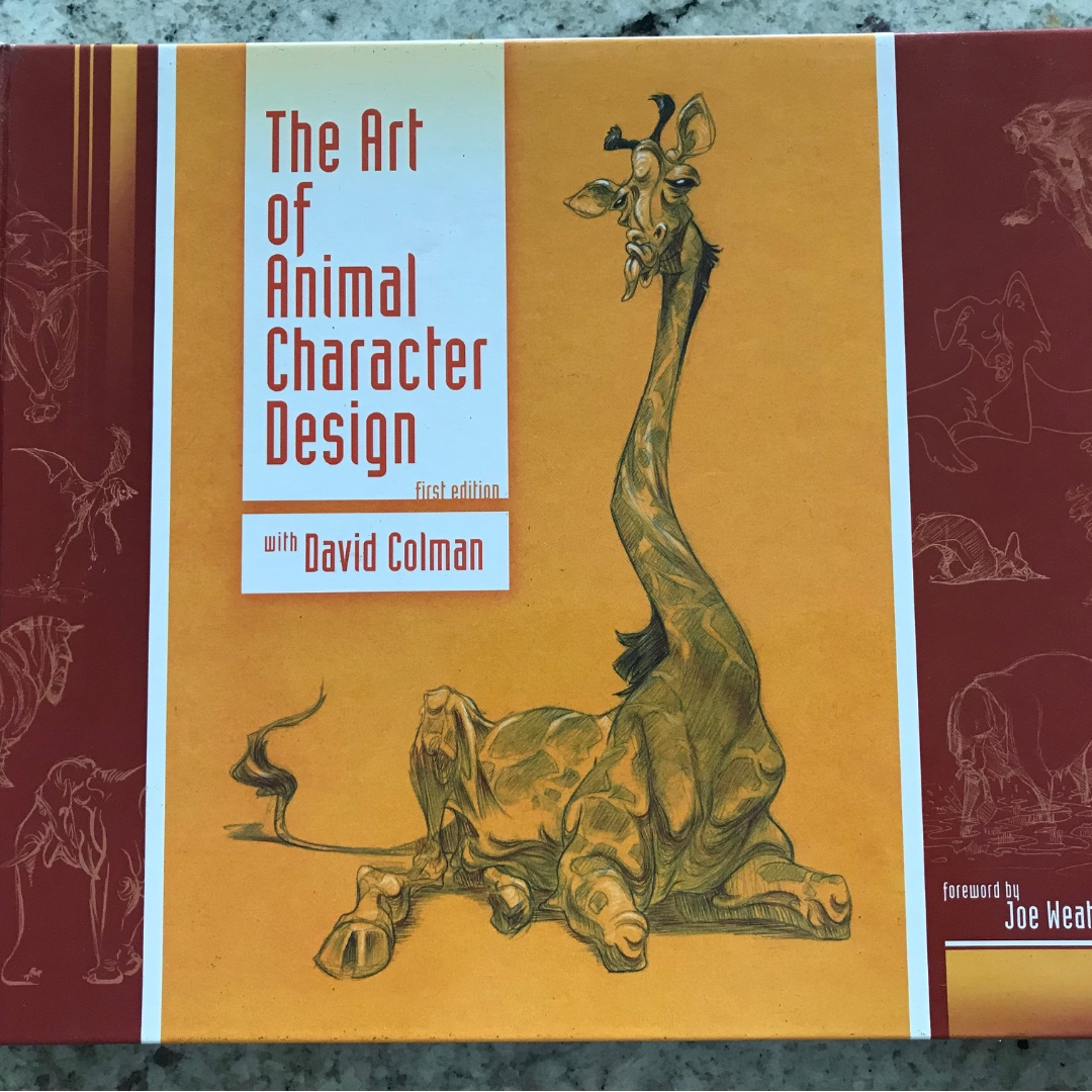 The Art Of Animal Character Design With David Colman Books