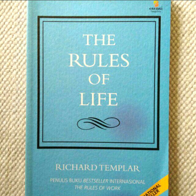 The Rules of LIFE (Richard Templar)