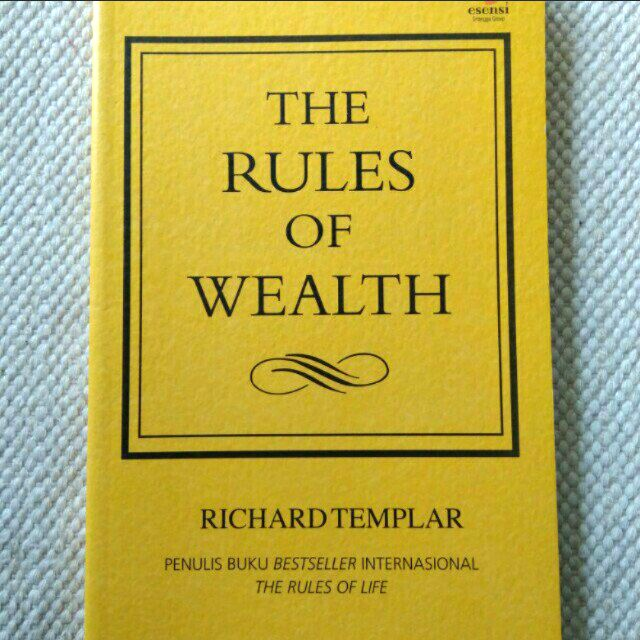 The Rules of WEALTH (Richard Templar)