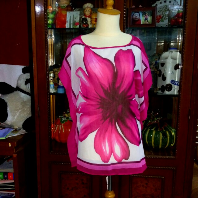 Top Flower Pink