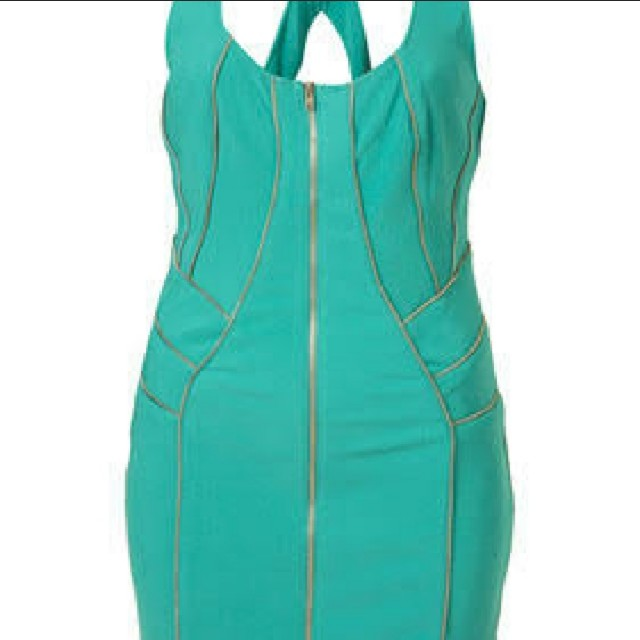 Topshop zipper dress