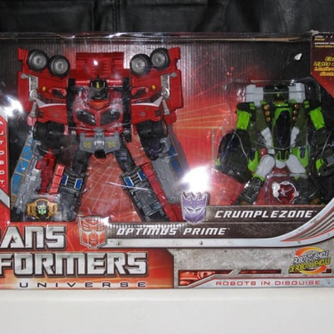 Transformers Optimus Prime Crumplezone universe Galaxy hasbro convoy