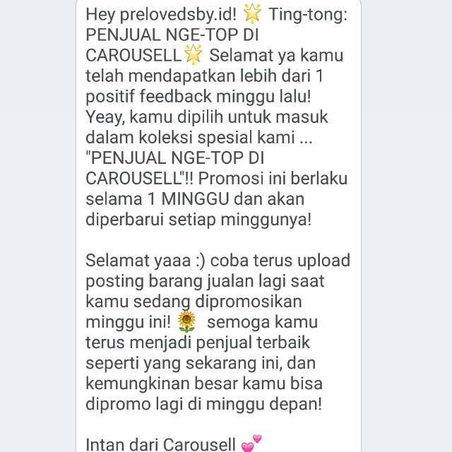 TRUSTED SELLER💕