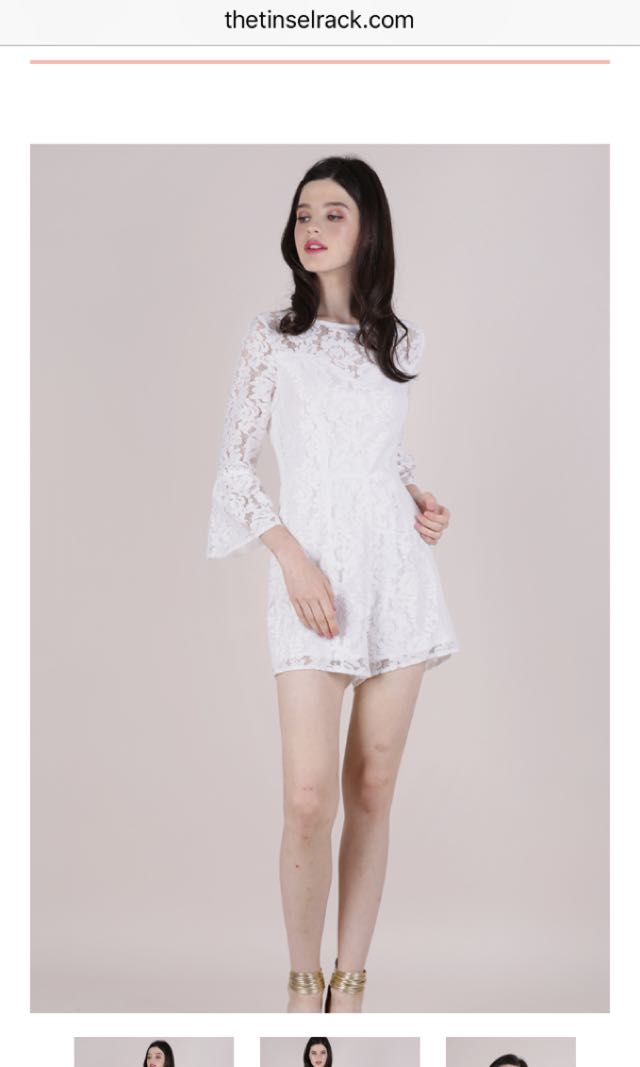 116d0134cad8 TTR LEIA TRUMPET SLEEVE ROMPER (WHITE)