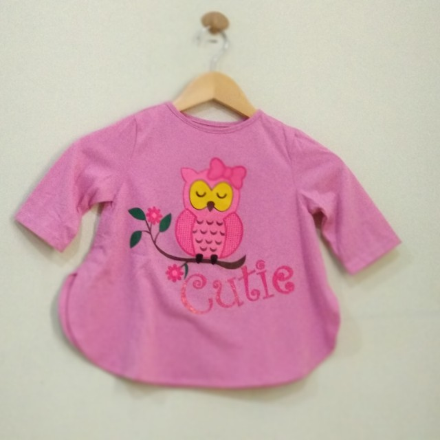 Tunik Pink New 2-3T