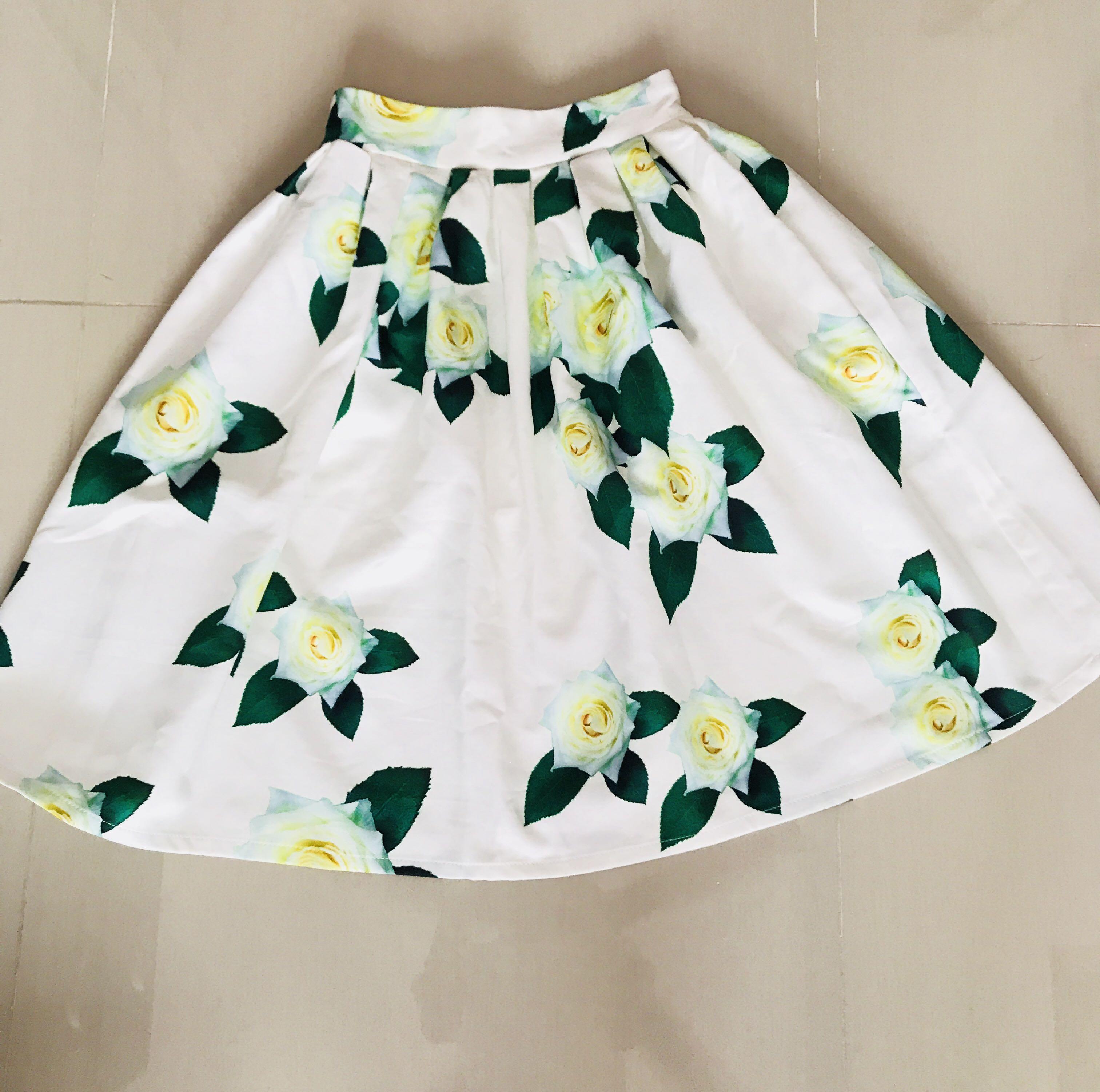 Twenty3 Midi Floral Skirt