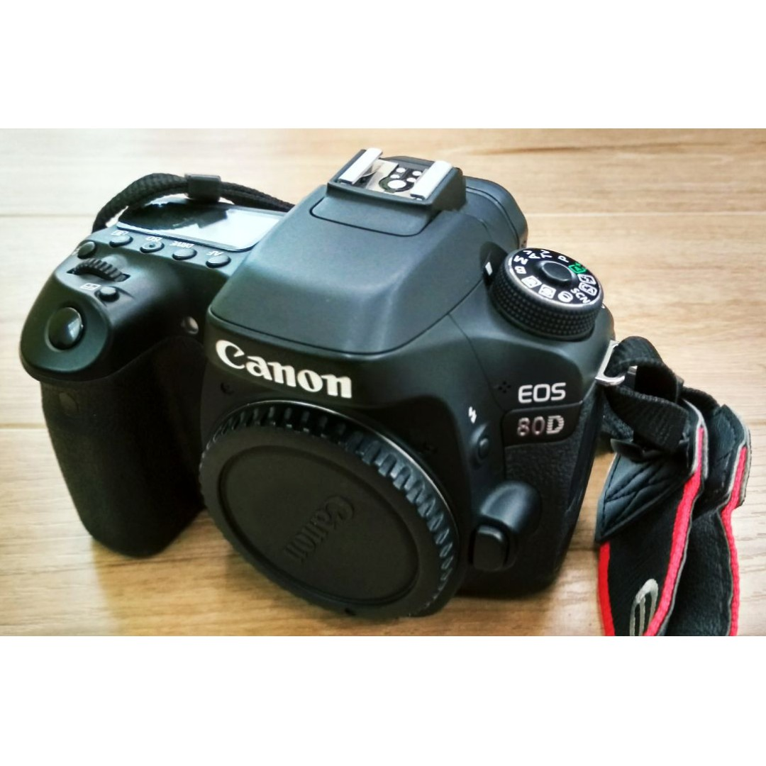Canon 80d Used