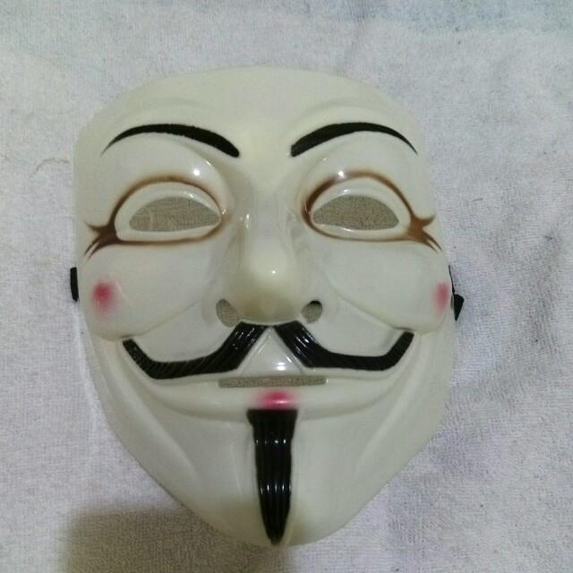 V怪客面具