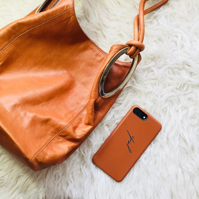 Vegan Leather Tote Bag in Leather