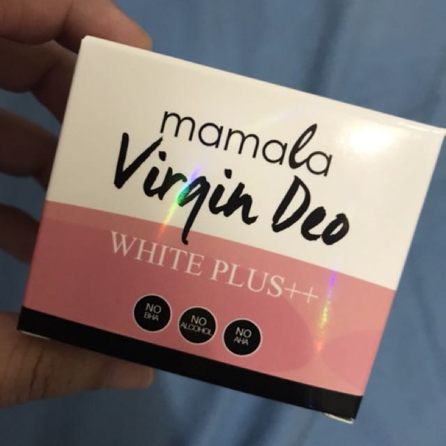 Virgin deo whitening