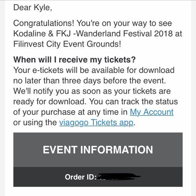 Wanderland Regular Buddy Ticket