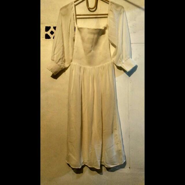 White Dress Sabrina