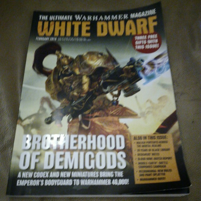 White Dwarf Magazine Feb 2018