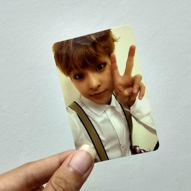 WXO Xiumin Minseok Exodus Photocard PC