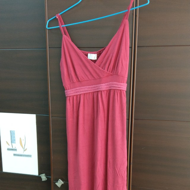 Yoco 東京著衣紅色長洋裝