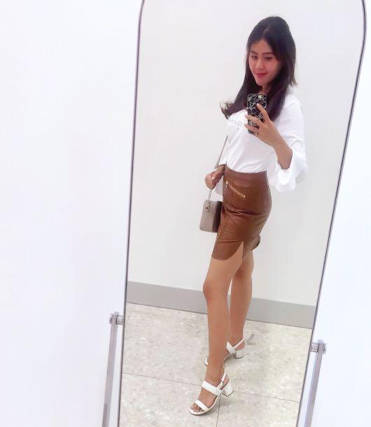 yoyo's chocolate skirt