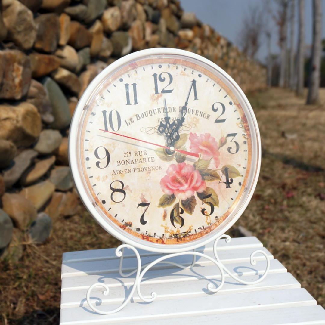 ZAKKA VINTAGE EUROPEAN TABLE CLOCK #1