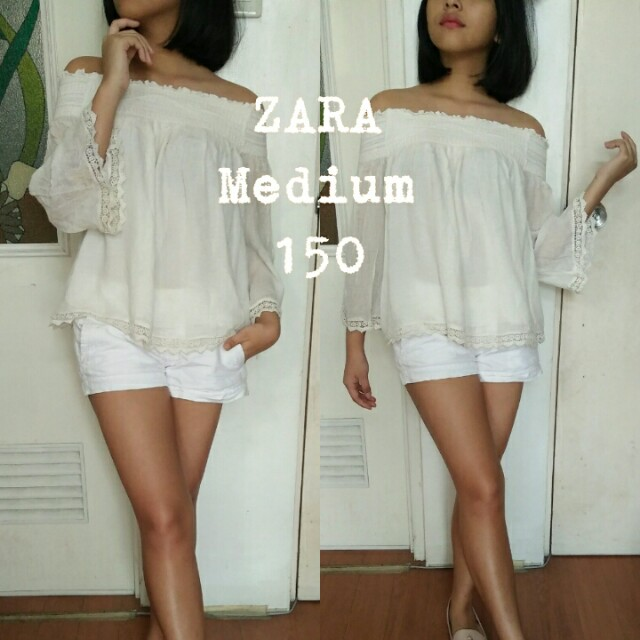ZARA OFF SHOULDER