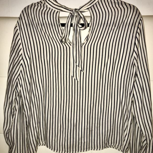 Zara Stripped Blouse