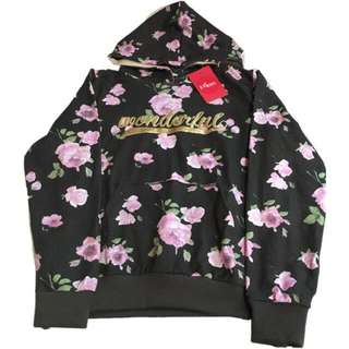 🍬 Branded Floral Hoodie For Girls