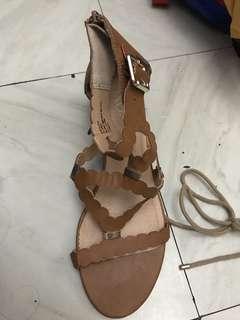 XOXO wedge sandals (authentic)