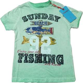 🍬 Branded Sunday Fishing Top For Boys