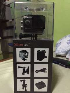 Silvertec Dynamic Action Camera with monopod