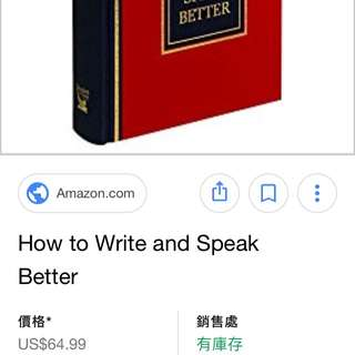 Reader's Digest-How To Write And Speak Better