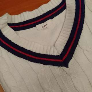 女裝V領冷衫(肩寬:16.5in' 胸寬:17in' 衣長:22.5in')
