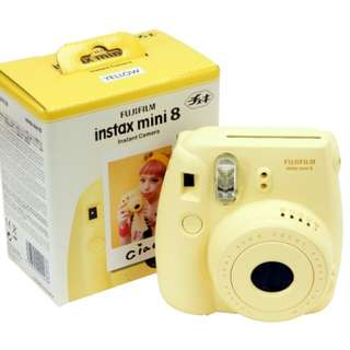 Kamera Polaroid Fujifilm Instax Mini 8 (Free Refill Film)