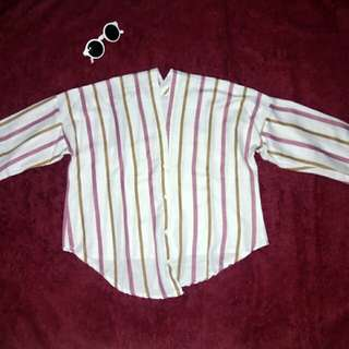 Stripe valen blouse