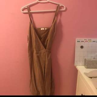PRICE DROP: NWT Astere Dress in Nutmeg Size XS (Linen material)