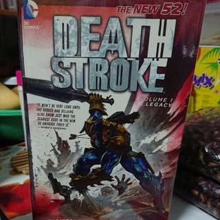 *Free Postage*New 52 Deathstroke Tpb Vol. 1