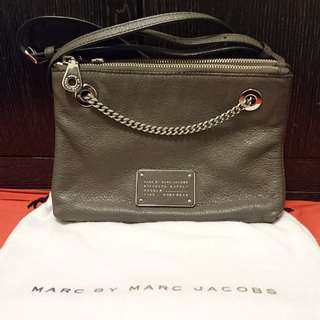 Marc by Marc Jacob 85% New 100%Real大象灰手袋