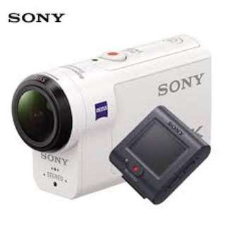 Sony FDR-X3000R 4K Action Cam with Wi-Fi & GPS