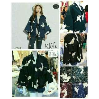 BEST SELLER 💕 LARIS BANGET !! IMPORT BANGKOK  kimono flaminggo import 105.000